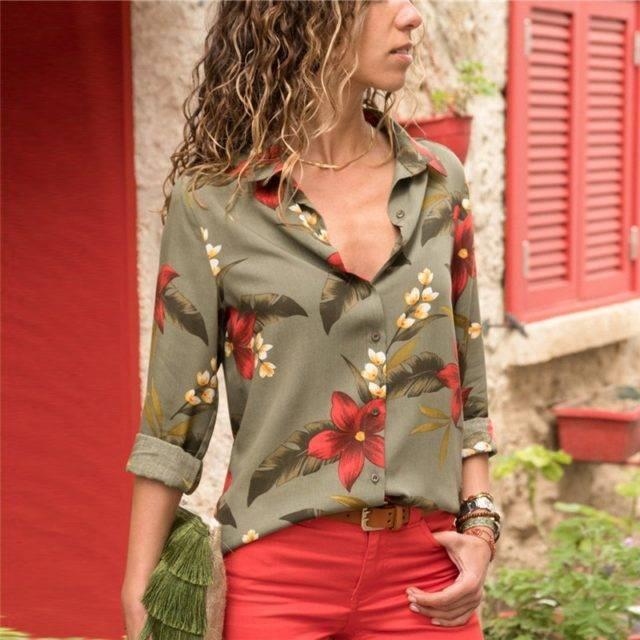Women Blouses 2020 Fashion Long Sleeve Turn Down Collar Office Shirt Leisure Blouse Shirt Casual Tops Plus Size Blusas Femininas Color : Blue White White Navy Blue White Army Green Beige Navy Blue Orange Pink Sky Blue Navy Blue Sky Blue Multicolour-1 Multicolour-3 Multicolour-2 Navy Blue Yellow Orange Sky Blue Army Green White Red White Black Black Red