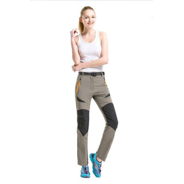 Women's Sport Outdoor Plus Size Pants Color : Black|Khaki|Army Green|Wine Red